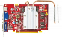 Microstar PCI-E NVIDIA GeForce NX8600GT-TD512EZ/D2 512Mb DDR2 128bit TV-out DVI retail