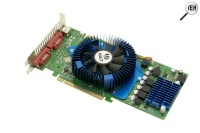 Palit PCI-E NVIDIA GeForce 8800GT Sonic 512Mb DDR3 256bit TV-out DVI retail