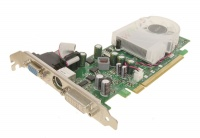 Leadtek PCI-E PX8400GS-Extreme NVidia GeForce 8400GS 256Mb DDR2 64bit TV-out DVI Retail