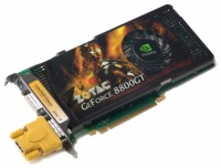 Zotac PCI-E NVIDIA GeForce 8800GT AMP 512Mb DDR3 256bit TV-out DVI (ZT-88TES3P-FCP) retail
