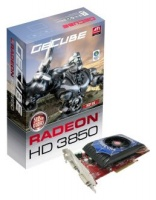 Gecube PCI-E ATI Radeon HD3850 512Mb DDR3 256bit TV-out 2xDVI Retail