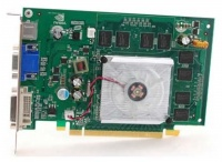 XFX PCI-E NVIDIA GeForce 8400GS 512Mb DDR2 128bit TV-out 2xDVI retail (PV-T86S-YAJG)