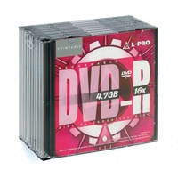 L-Pro 4.7Gb DVD-R 8x Printable Slim