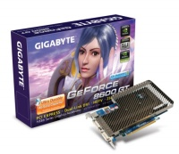 GigaByte PCI-E GV-NX86T256Н NVidia GeForce 8600GT 256Mb DDR3 128bit TV-out Dual DVI Retail