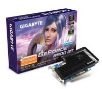 GigaByte PCI-E GV-NX86T512H NVidia GeForce 8600GT 512Mb DDR2 128bit TV-out Dual DVI RTL