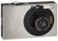Canon Digital IXUS 70 Black 7.1Mpx,3072x2304,640х480 video,3х опт./4х цифр.зум,32Mb,SD-Card,MMC,125гр .