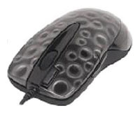 A4 Tech X6-55D Black Optical Laser Mouse, 1000dpi, 5 кнопок+1 колесо, USB+PS/2.