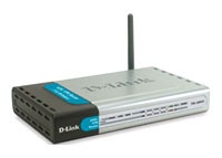 D-Link DSL-G804V 802.11g Wireless ADSL2/2+  Annex A VPN Router with 4-port 10/100M Ethernet Switch