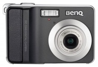 Benq DC-C840 Black 8.0Mpx, 3264x2448,640x480 video, 3х опт./4х цифровой зум,6Mb, SD-Card,140гр.