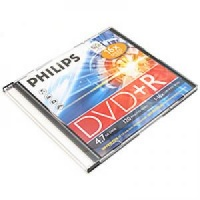 Philips 4.7Gb DVD+R 16x Color slim