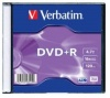 Verbatim 4.7Gb DVD+R 16x Slim (43515)