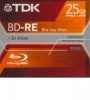 TDK 25Gb BD-RE 2x Jewel