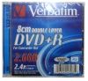Verbatim 2,6Gb DVD+R 2,4x Slim Double Layer (43584)