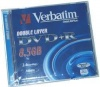 Verbatim 8.5Gb DVD+R 2.4x jewel Double Layer(43459/60)