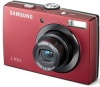 Samsung L100 Red 8.3Mpx,3264x2448,640х480 video,3х цифр.зум,20Mb,SD-Card,аккум.бат.,114гр.