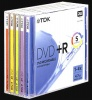 TDK 4.7Gb DVD-R 4x jewel color