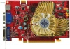 Microstar PCI-E NVIDIA GeForce NX8600GT-TD256E-OC/D2 256Mb DDR2 128bit TV-out DVI retail