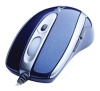 A4 Tech X-710 Blue Optical Mouse, 1000dpi, 5 кнопок+5 прогр. кнопок, колесо прокрутки, USB+PS/2