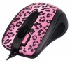 A4 Tech GOL-73PF Lux Leopard Optical Mouse, 2Click, 800dpi, USB.