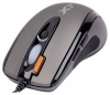 A4 Tech X-718F Grey Optical Mouse, 2000dpi, 6 кнопок+1 колесо-кнопка, PS/2+USB.