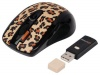 A4 Tech GRL-70BF Brown Front  Power Saver Wireless Optical Mouse, USB.