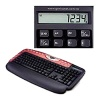 Genius KB-29e Calculator Multimedia Red, подставка, PS/2
