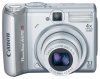 Canon PowerShot A570IS Silver 7.1Mpx,3072x2304,640х480 video,4х опт./4х цифр.зум,16Mb,SD-Card,MMC,175гр .