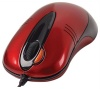 A4 Tech OP-50D Red Optical Mouse, 2 Click, PS/2