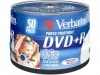 Verbatim 4.7Gb DVD+R 16x printable 50 шт в cake box (43512)