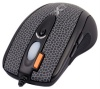 A4 Tech X-718BF Black Optical Mouse, 2000dpi, 6 кнопок+1 колесо-кнопка, USB+PS/2