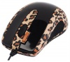 A4 Tech GOL-73BS Lux Leopard Optical Mouse, 2Click, 800dpi, USB.